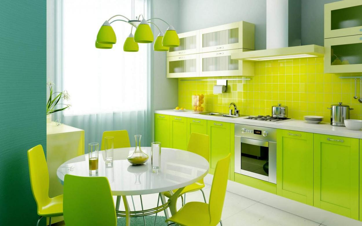 and-lime-green-kitchen-and-dining-colors-theme-interior-design-ideas