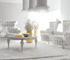luxury white living rooms design