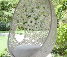 mesmerizing hanging ceiling egg chair webbing design style