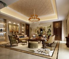 modern and traditional luxury living rooms design