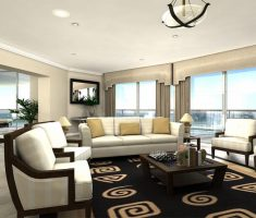 modern luxury apartment living rooms