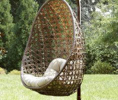 rattan outdoor hanging ceiling chair