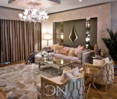 samll and elegant Luxury Living Rooms