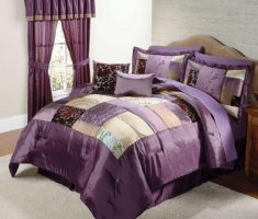 small Purple Curtains for small purple bedroom Decorating