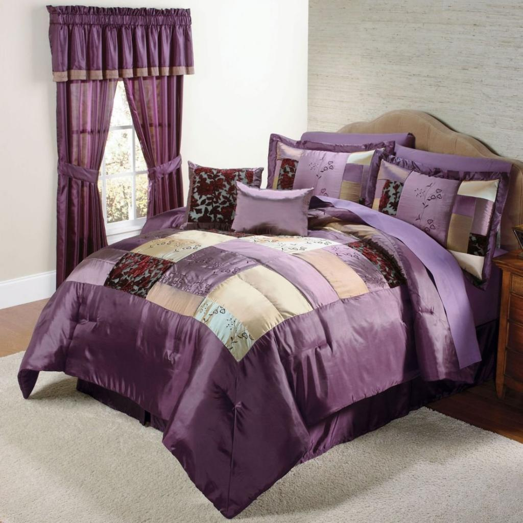 Small Purple Curtains For Small Purple Bedroom Decorating Part 66