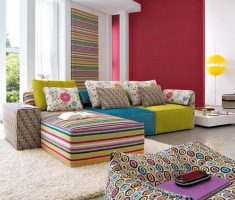 trendy and colorful colors interior design ideas