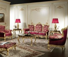 victorian classic luxury living rooms design ideas divano barocco and classic pink chairs furnitures