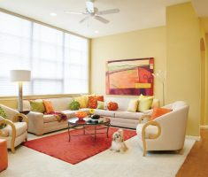 warm and pastel living room colors theme for popular interior design ideas