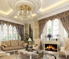 white ivory classic traditional luxury living rooms