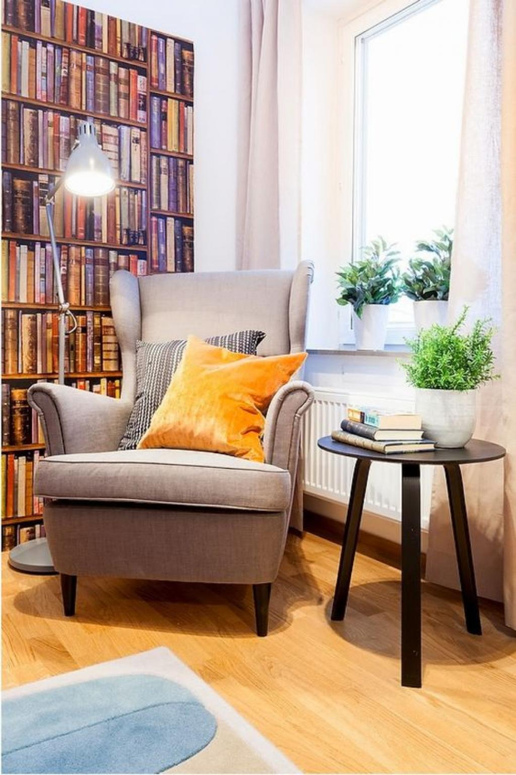 Classic Corner Wing Reading Chair