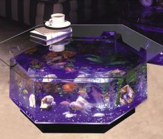 Creative Hexagon Coffee Table Aquarium