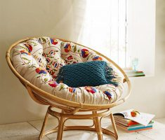 Floral Papasan Reading Chair