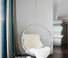 Modern Minimalist Circular Round Reading Hanging Chair