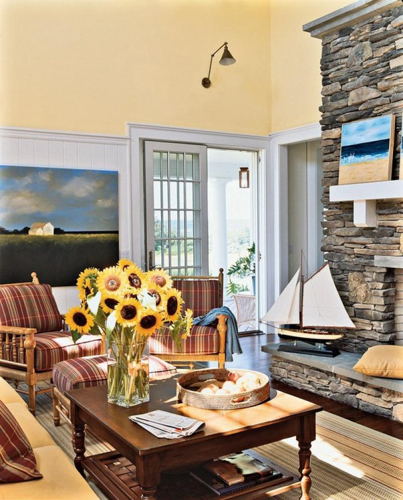 Best Beach Style Family Room