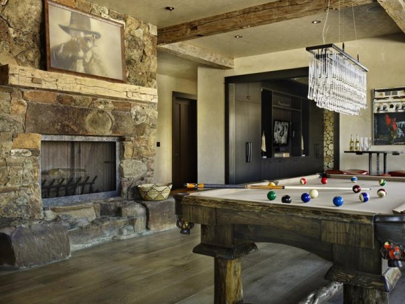Best Fireplace Hearth Ideas Natural Stone Wood Mantel Rustic Family Room