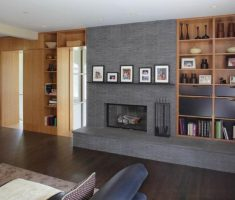 Best Modern Family Room Fireplace Hearth Ideas Extended Decorative Heart