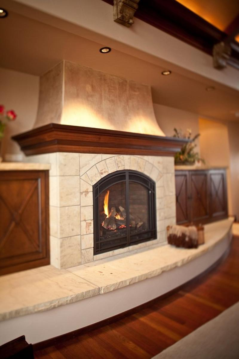best traditional living room fireplace design polished stone hearth