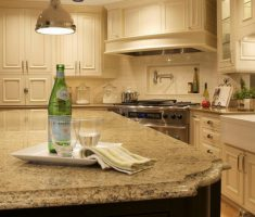 Best Quartz Countertop Colors Cream Cabinets Dark Wood Island Kitchen Remodel Ideas