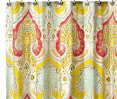Best Stylish Designer Shower Curtains Ideas Colorful Pattern