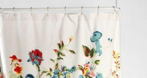 Best Stylish Designer Shower Curtains Ideas Floral Motifs Bathroom Decor Ideas