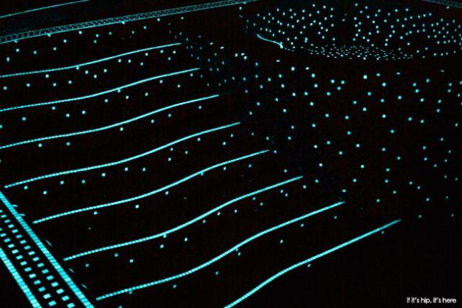 Awesome Pool, Glowing In The Dark Mosaic Tiles 1