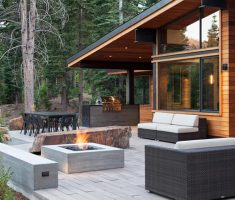 Best Cool Small Outdoor Patio Design With Firepit