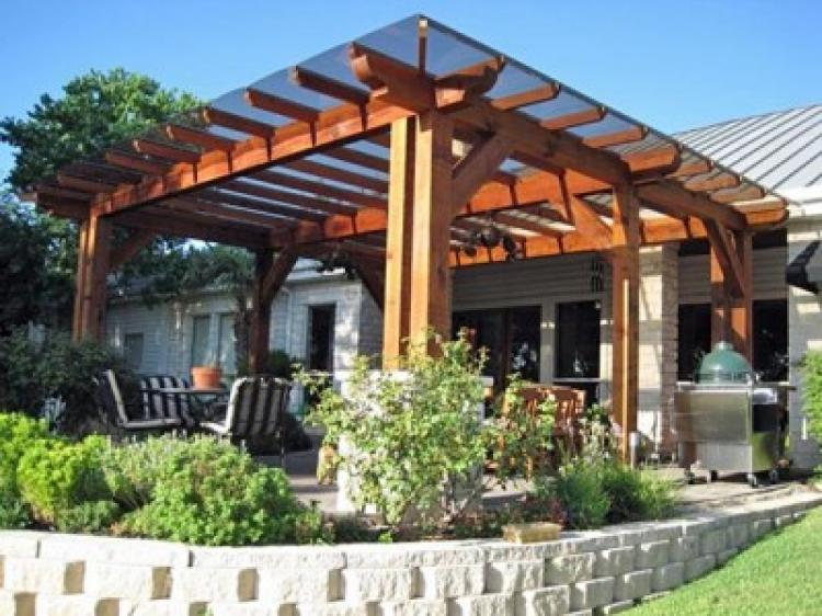 Best Wood Patio Cover Kits 400x300