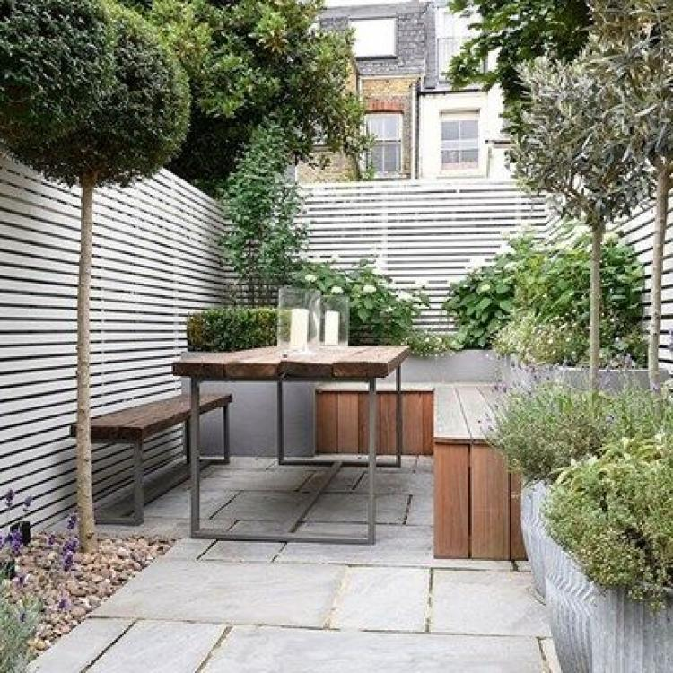 Inspiring cute small patio design ideas 13 for Small backyard layout ideas