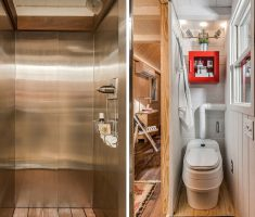 Riverside Tiny Home bathroom