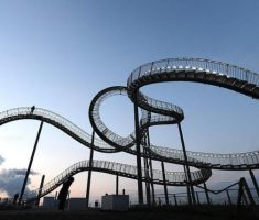 Tiger & Turtle Magic Mountain in Duisburg, Germany