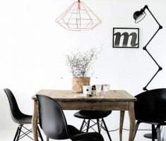 Fashionable And Stylish Interior With Minimalist Decorations Furniture Dining Room Design Ideas