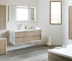 Beautiful White Monochrome Scandinavian Bathrooms 4