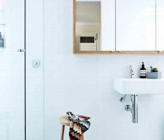 Beautiful White Monochrome Scandinavian Bathrooms 6