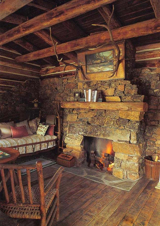 60 Amazing Stone Fireplace Design And Decorations Page