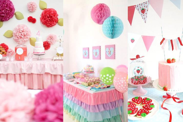 60 creative tips for simple birthday decorating for Simple centerpieces for birthday