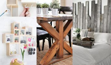 Easy DIY Reclaimed Wood Projects