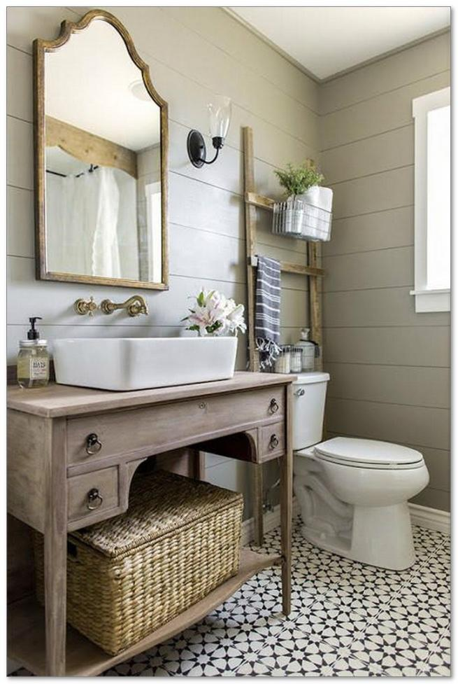 40  enchanting urban farmhouse master bathroom remodel ideas