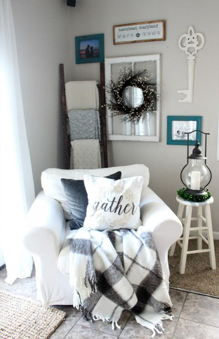 40 Cozy Living Room Decorating Ideas: 40+ Gorgeous Farmhouse Modern And Rustic Living Room