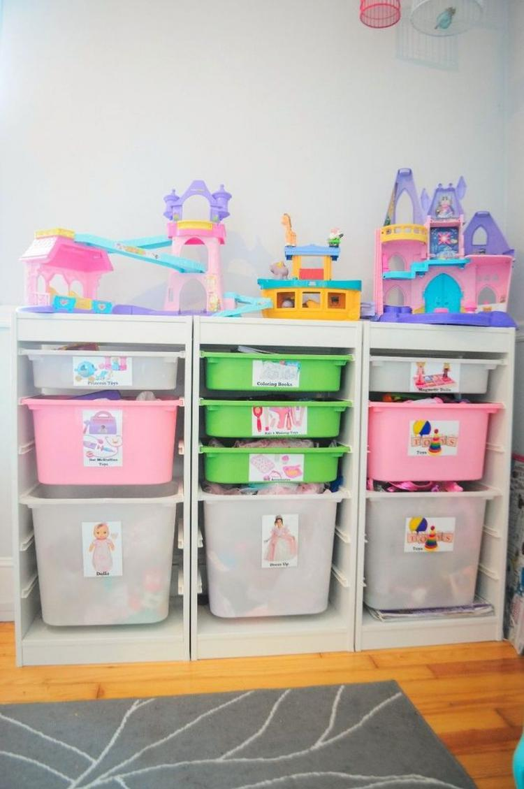 90 smart toy storages design ideas for small space for Small space ideas