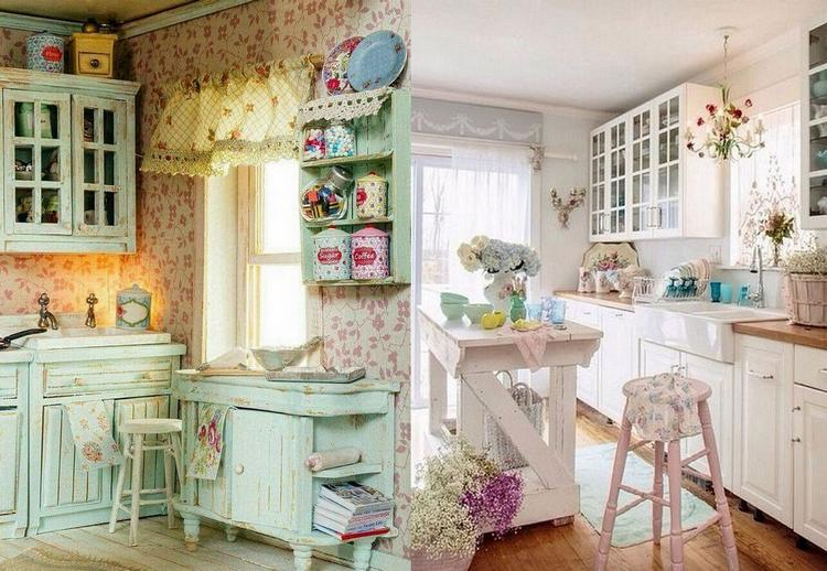 shabby chic kitchen decorating ideas 50 beautiful shabby chic kitchens design and decor 25611