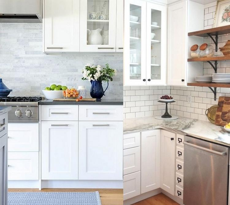20 Italian Kitchen Ideas That Will Inspire You: Inspiring White Shaker Cabinets Kitchen & 20 Best Ideas