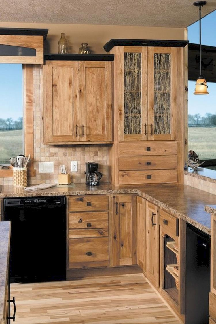 Interesting Kitchen Designs Ideas With Rustic - photo#23