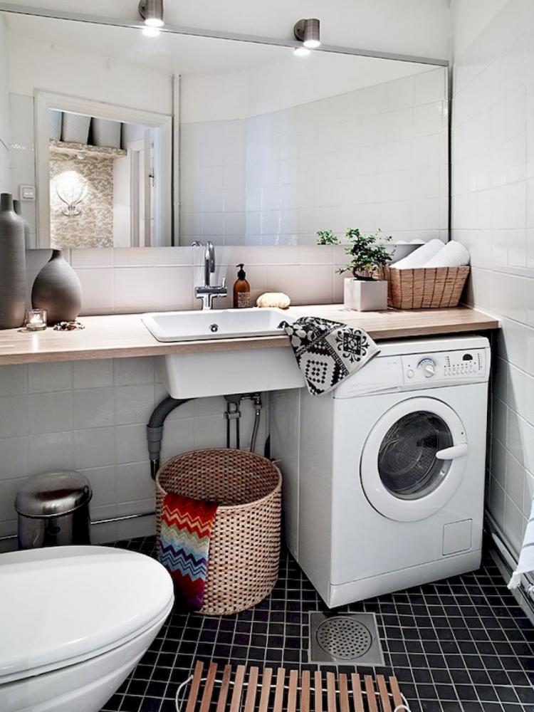 19 Scandinavian Laundry Room Design Ideas For Your Apartment