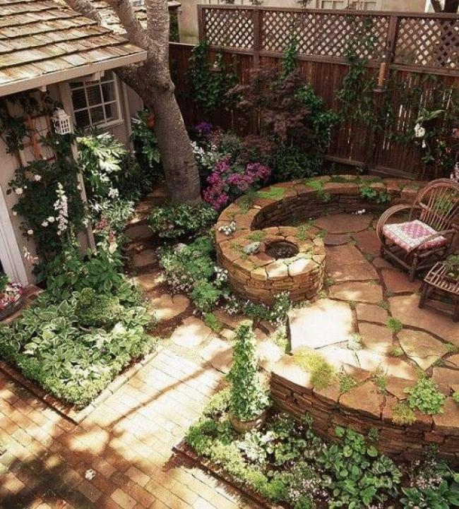 Tips Easy Creating Small Backyard Landscaping & 40