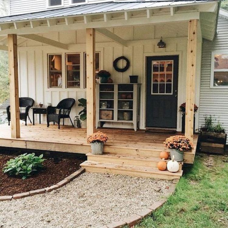 Outdoor Landscaping Ideas On A Budget: 30 Wondrous Farmhouse Backyard Ideas Landscaping On A Budget