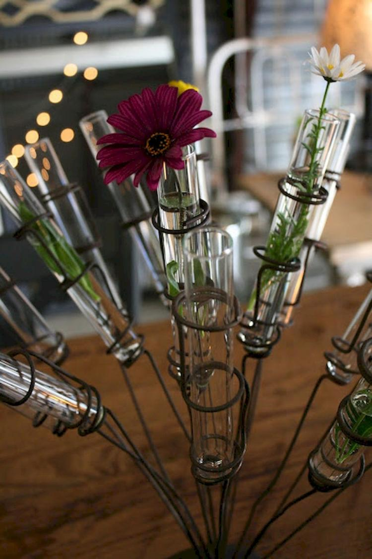 20 Easy Diy Test Tube Vase Crafts Ideas