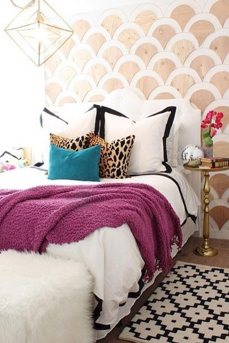 50+ Eclectic Bedroom Decorating Ideas On A Budget | Page 5 ...