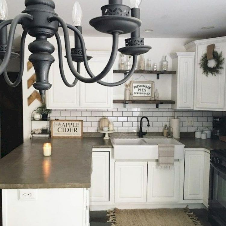 Farmhouse Kitchen Backsplash Ideas: 50+ Fancy Farmhouse Kitchen Backsplash Decor Ideas