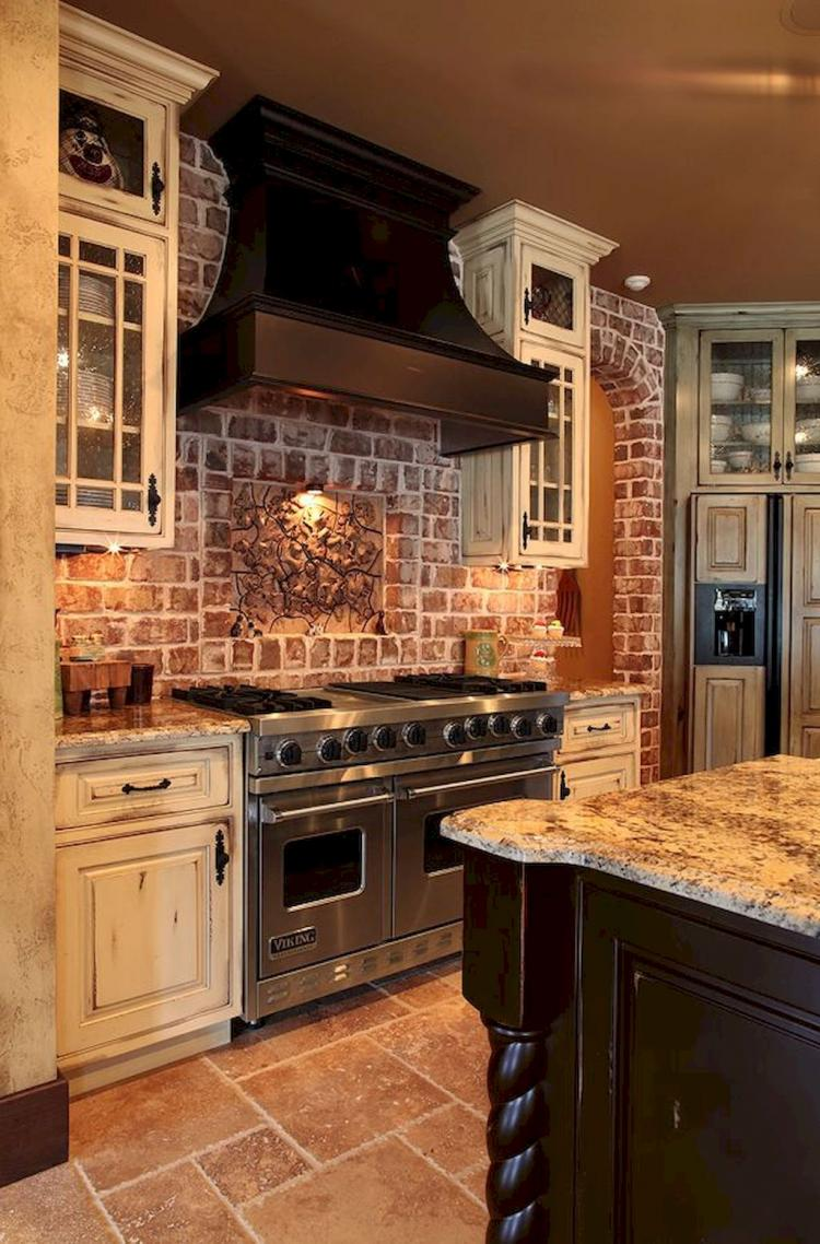 50 Fancy Farmhouse Kitchen Backsplash Decor Ideas