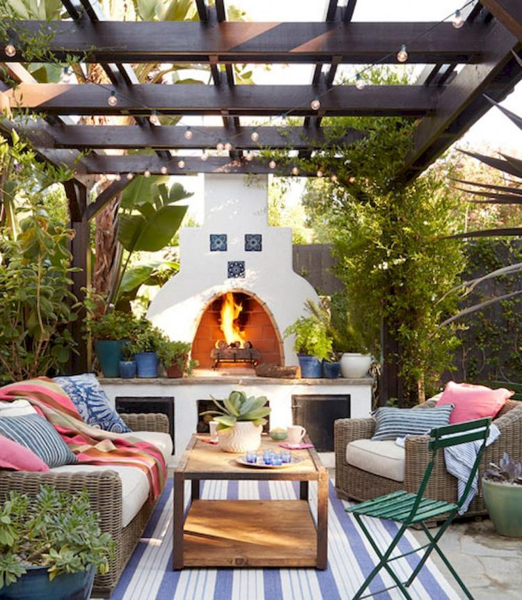 If You Are Looking For The Most Optimal Small Outdoor: 29 Rustic Backyard Ideas Landscaping